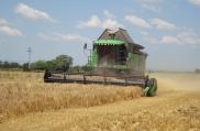 Жътва, с. Яна  - Комбайн DEUTZ-FAHR 6090 и трактор Agrotron X 720